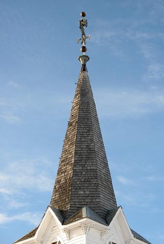 West Prairie steeple