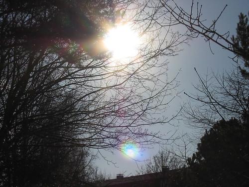 Sonne über den Dächern