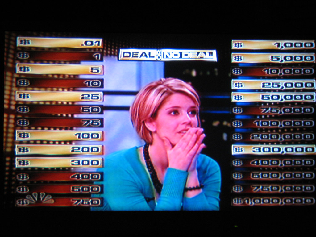 "Jackie on ""Deal Or No Deal"""