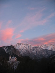 pink peace (Nicola Zuliani) Tags: pink sunset mountain church tramonto quiet peace nicola postcard rosa chiesa pace montagna calma cartolina eremo serenit nizu zuliani nicolazuliani nizuit wwwnizuit