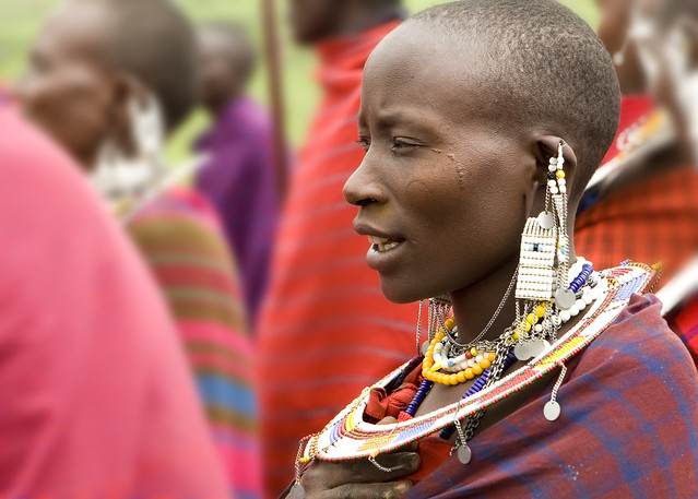 Masai Dancers near Ngorongoro Crater