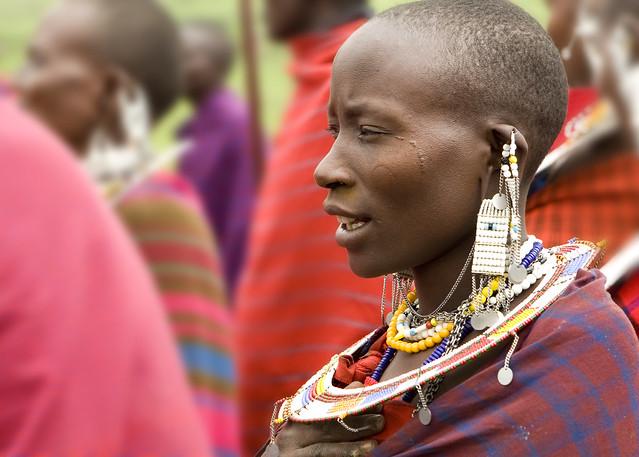 Masai Dancers near Ngorongoro Crater