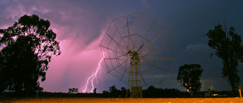 Thunderstorm at the ATCA site