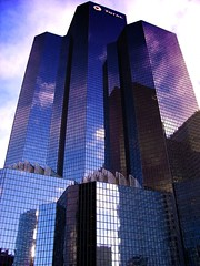 TOTAL tower (galdo trouchky) Tags: paris france reflection building tower glass architecture total ladfense