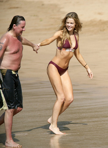 Denise Richards with Richie Sambora
