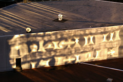 'city (dawn reflections) rooftop' courtesy of suchstuff