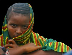 Fullah Girl (LindsayStark) Tags: africa travel portrait people girl children war sierraleone conflict humanrights humanitarian displaced idpcamp refugeecamp idps idp humanitarianaid emergencyrelief idpcamps waraffected