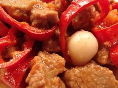 Kırmızı Biberli Et Sote