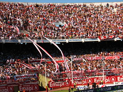 CA River Plate fans, El Monumental, Buenos Aires