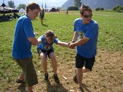 Auch du gehst ins Wasser... (Michael Beat) Tags: scouts steinen pfadi pfadfinder eurocamp fnf wfis feuerkreis solmser
