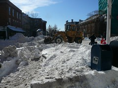 Snow Removal, Market Square, Portsmouth NH
