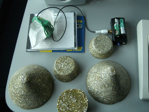 Orgonite, Orgone Energy, Tower Busters and the Holy Hand