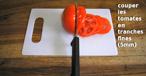 Tian - Préparation tomate 2