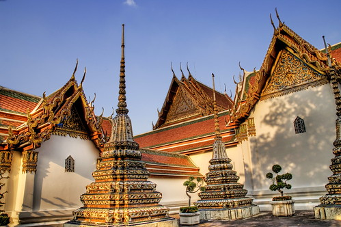 Wat Pho in the Afternoon Shadows