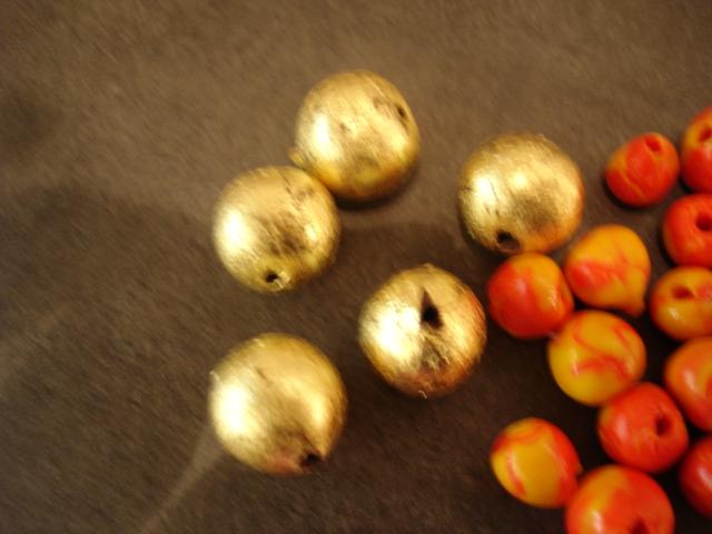 Fimo kuldsed käkid