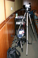 Our Equipment (mastermaq) Tags: vancouver events conferences northernvoice mastermaq nv2007 nv07