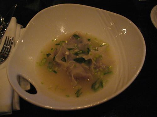 Oxtail Ravioli Soup