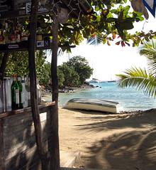 Foxy's Tamarind Bar (Killam Creative) Tags: beach sailing caribbean jostvandyke bvi britishvirginislands foxys greatharborjvd