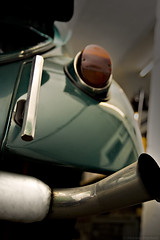 Pipe (Andreas Reinhold) Tags: detail vw bug volkswagen pipe beetle chrome callook muffler exhaust kfer aircooled dfl