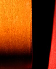 calm down (North Face) Tags: wood light shadow red orange abstract color home colors night canon relax 350d design photo chair colorful mood colours foto interior woody sigma rothko armchair farbe interestingness82 i500