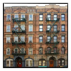 Physical Graffiti brownstone NYC by beeez, on Flickr