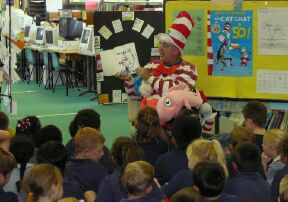 The Cat in the Hat national read-aloud