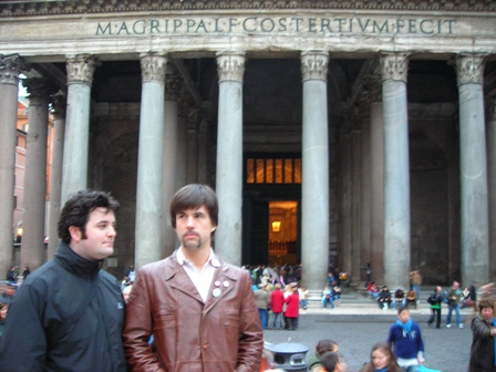 Mat Brian at the Pantheon