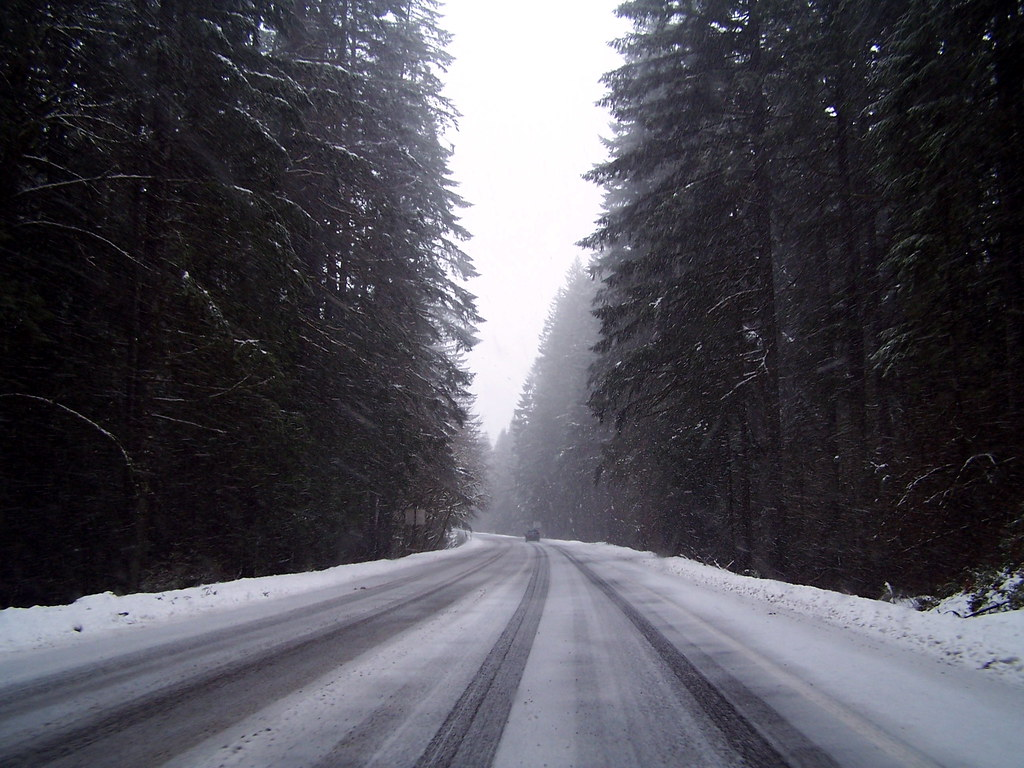 The Pass in Snow- Route 26