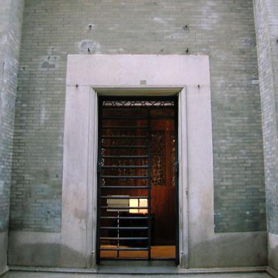 大屋的正門