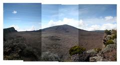Piton de la Fournaise (Sammee) Tags: panorama collage landscape volcano pano paysage volcan panography iledelarunion pitondelafournaise reunionisland panograph panographic gamede