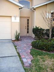 Bricks front entrance