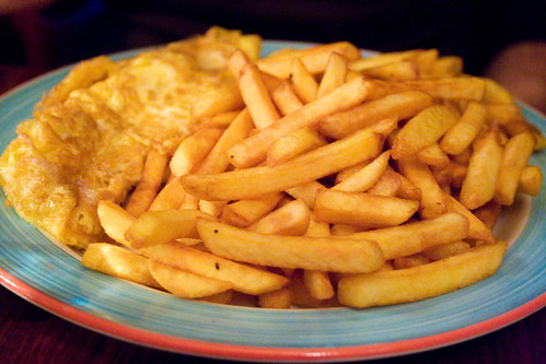 omelette and frites