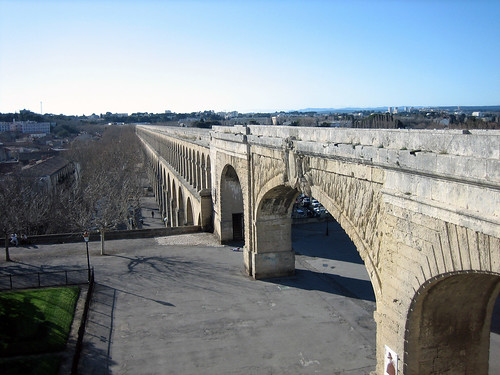 St-Clément Aqueduct Montpellier France