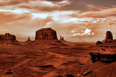 John Ford Point, Monument Valley, Arizona, USA (Peter Bongers) Tags: travel light red arizona sky usa cowboys clouds wow nikon d70 nikond70 monumentvalley wildwest rawhide yeehaw johnford naturesfinest terdata supershot nikonstunninggallery abigfave peterbongers inthedistanceyoucanhearenniomorricone nikonflickraward nikonflickrawardgold nikonflickrawardplatinum
