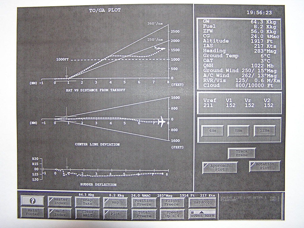 Fallor de Motor en V1 - Simulador A320