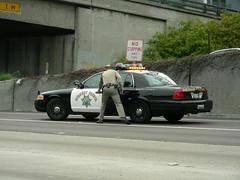 California Highway Patrol (So Cal Metro) Tags: california ford cops sandiego accident police freeway policecar chp rushhour interstate collision interceptor crownvictoria highwaypatrol