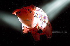 Pig on the Wing ([RaCo]) Tags: chile pink santiago music rock pig concert tour live pinkfloyd floyd index cl 2007 flyingpig rogerwaters copyrighted darksideofthemoon raco estadionacional ltytr1 raulantoniocornejoreyes nationalstadiumofchile