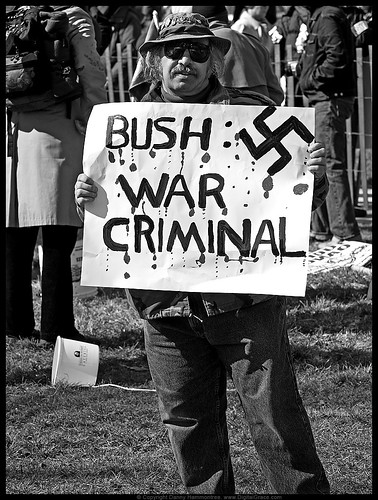 investigate bushie administration charges support convicted war crimes hear lol