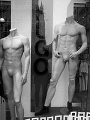 socks only (.A.A.) Tags: munich mannequins hugoboss