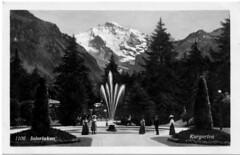 Kurgarten  Interlaken 1931 - by pizzodisevo (first of all, my health)