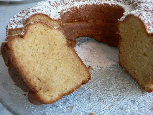 Kuchen mit Whisky-Sahne-Likör