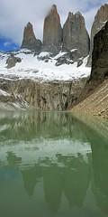 Reflejo (lynxpardina) Tags: chile patagonia torresdelpaine laguna parquenacionaltorresdelpaine flickrsbest specland