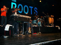 The Roots in concert at Kool Haus 2 (Aaron_M) Tags: music drums concert live roots horns haus hip hop rap kool the