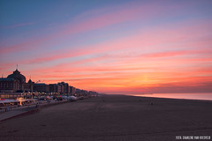 Sunset Scheveningen Beach (Charlene van Koesveld) Tags: sky landscape sunset scheveningen city sea water beach clouds colorful colors coast ocean cityscape beautiful pier sand seascape denhaag thehague holland dutch netherlands nederland kurhaus seaside dusk outdoor