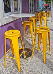 Sillas Amarillas (gomesjose55) Tags: texturas textures colores colors colours canoneos60d canonlensef1785mm canonlens amarillo 35mm digitalphotography digital fotografiadigital lightroom3 yellow