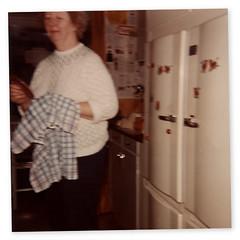 Grannie (Explorer Bjrn) Tags: sweden refridgerator mormor grannie blsta agfamatic108 kylochfrys