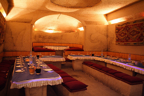 岩洞餐廳內部