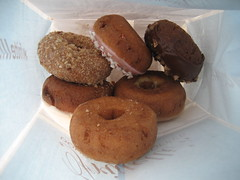 bag full of goodies (_melika_) Tags: beverlyhills doughuts frittellis doughnutsandcoffee doughtnutshop
