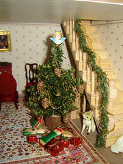 Joulu nukketalossa (Anna Amnell) Tags: christmastree dollhouse dollshouse nukkekoti nukketalo christmasinthedollhouse nukkekodinjoulu