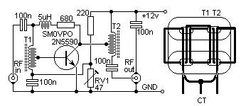 4W HF QRP Linear Amplifier